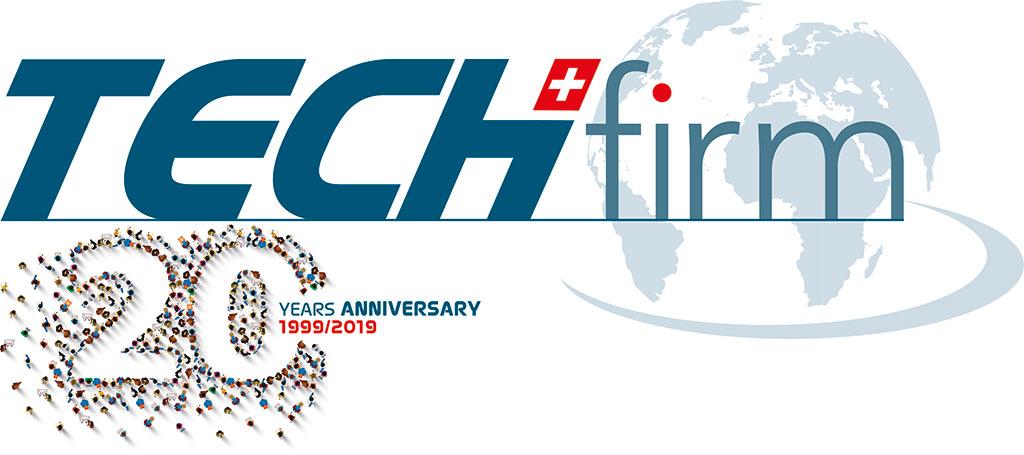 Logo Techfirm 20ans