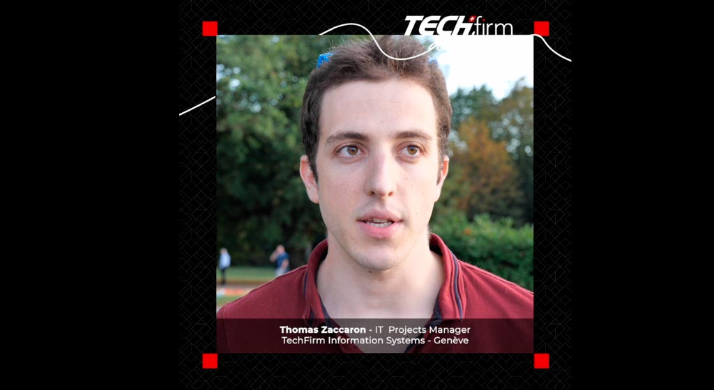 TECHFIRM AND ME : THOMAS ZACCARON